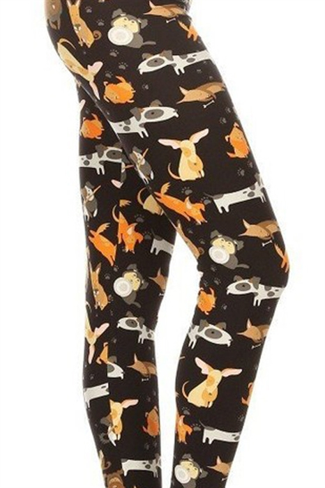 Picture of All The Dogs High Waist Leggings