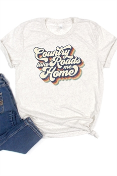 Picture of Country Roads Graphic Tee