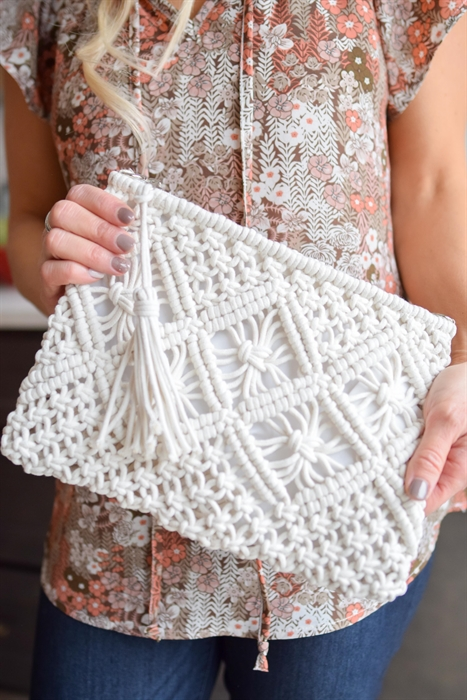 Picture of Crochet Clutch