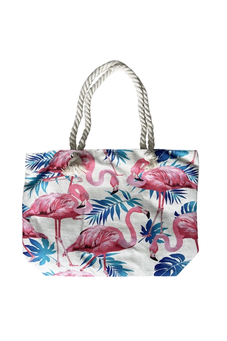 Picture of Pink Flamingo Beach Tote