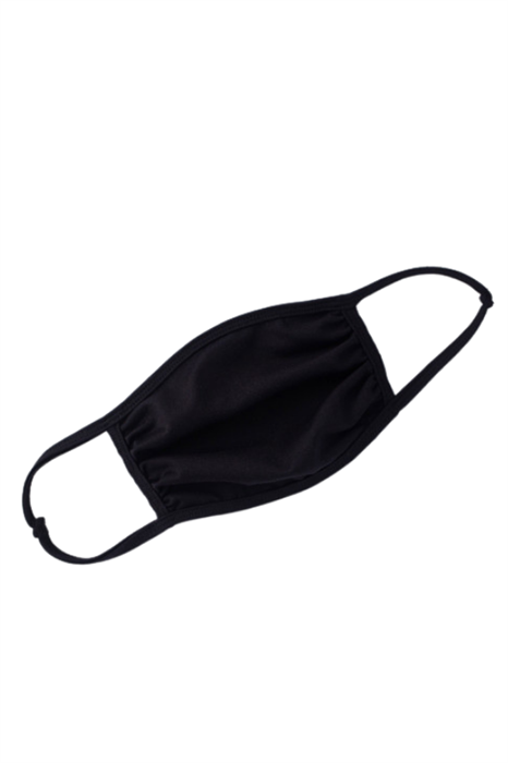 Picture of Solid Black Face Mask