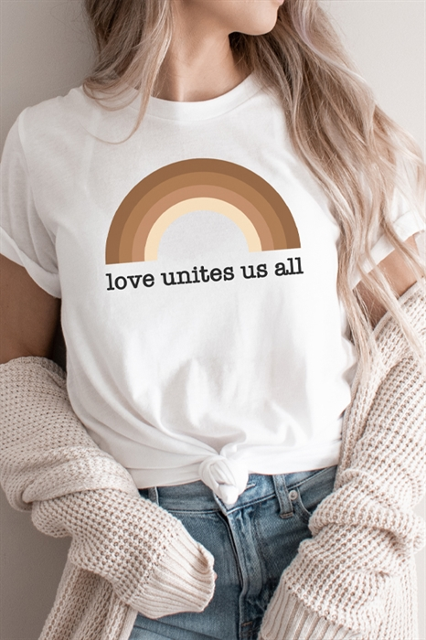 Picture of Love Unites Us All Graphic Tee