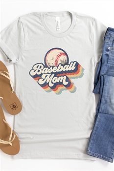 Picture of Baseball Mom Graphic Tee