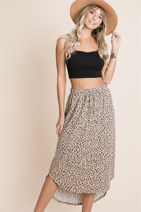 Picture of Leopard Midi Skirt 🇺🇸