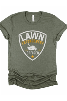 Picture of Lawn Enforcement Officer Graphic Tee