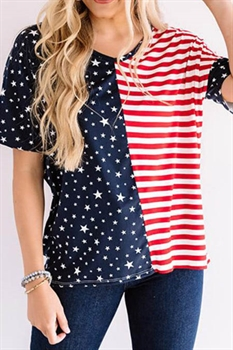 Picture of Hey Girl Stars and Ruffles Top