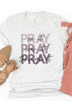 Picture of Pray Through It Graphic Tee by FBT