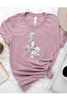 Picture of Moon Flower Graphic Tee