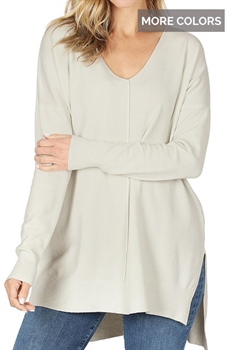 Picture of Luciana Hi-Low Sweater